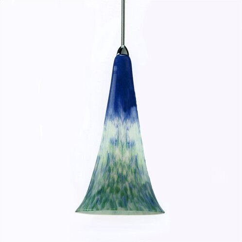 European Flute 1-Light COne Pendant by WAC Lighting