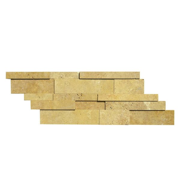 Honed Natural Stone Mosaic Tile in Noce
