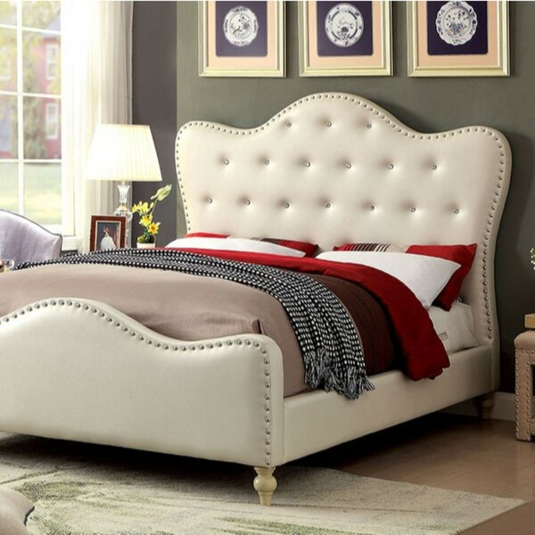 Lineville Upholstered Standard Bed by House of Hampton