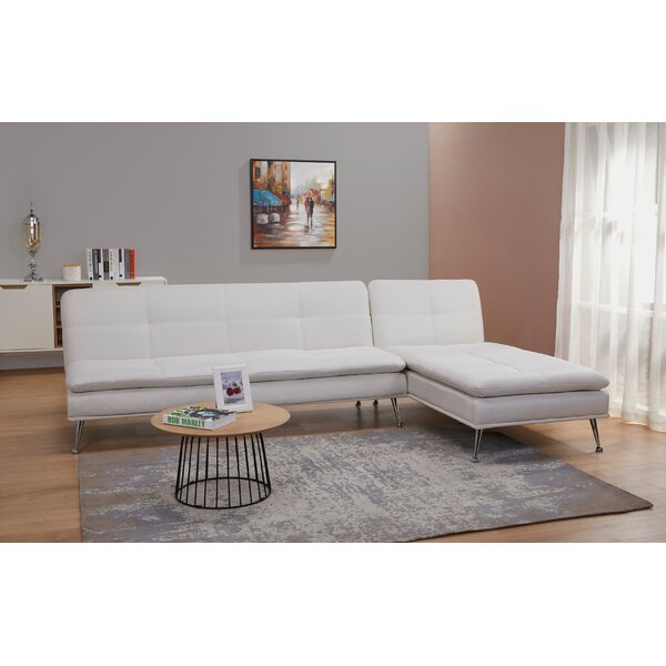 Konen Right Hand Facing Reclining Sectional By Latitude Run