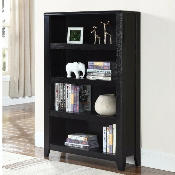 Holgate Transitional Wooden Standard Bookcase by Winston Porter