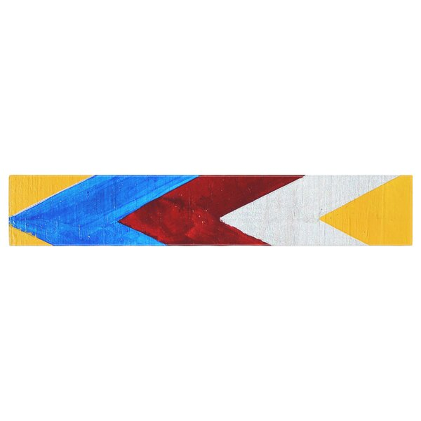 Brittany Guarino Zig Zag Table Runner by East Urban Home