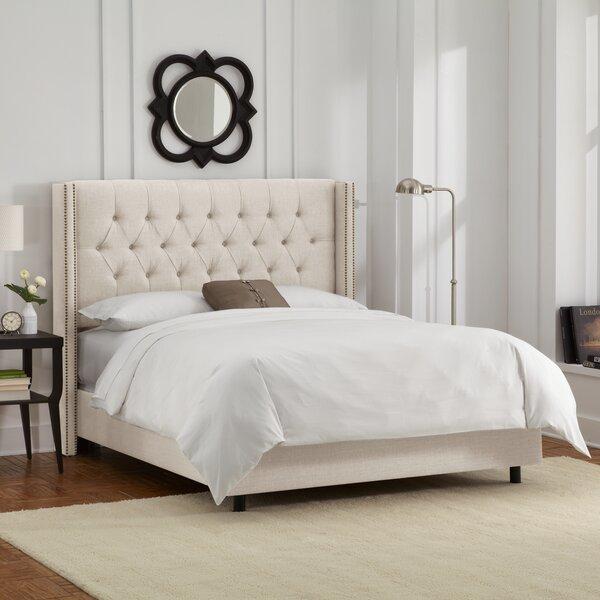 Davina Upholstered Panel Bed by Willa Arlo Interio