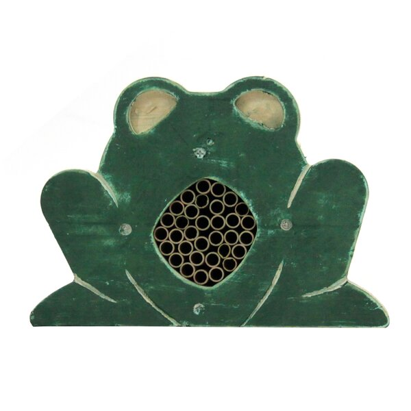Kismet Frog Solitary Bee House by Tucker Murphy Pet