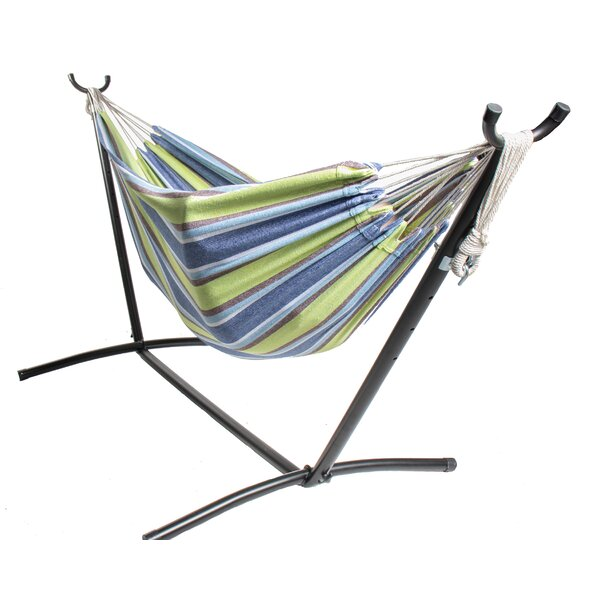 Rithland Double Camping Hammock with Stand by Freeport Park Freeport Park