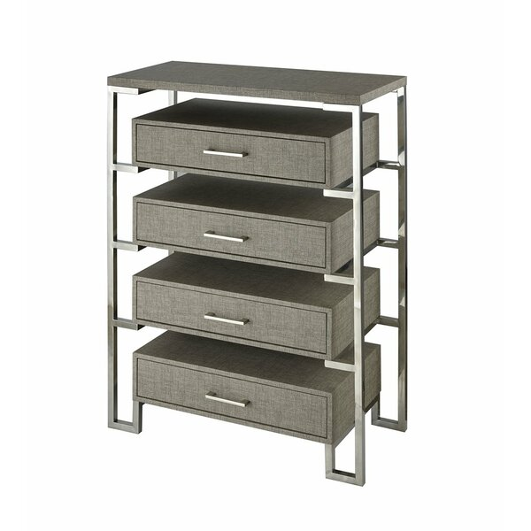 Kaira 4 Drawer Chest by Foundry Select