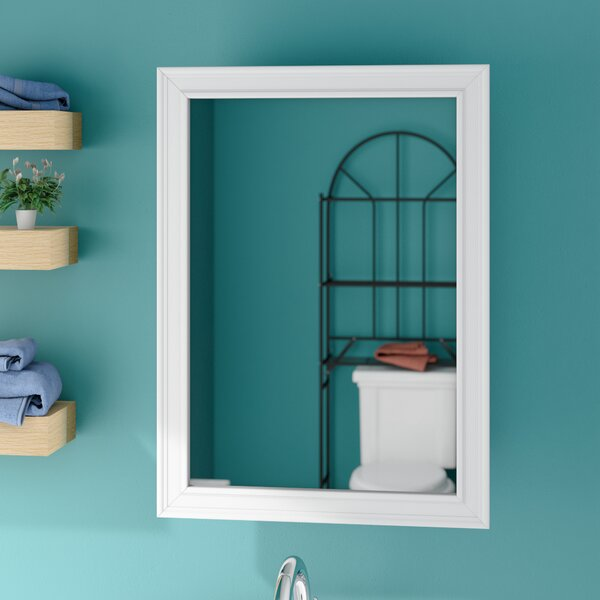 Marc 16.25 x 22.25 Recessed Framed Medicine Cabinet with 2 Adjustable Shelves by Charlton Home