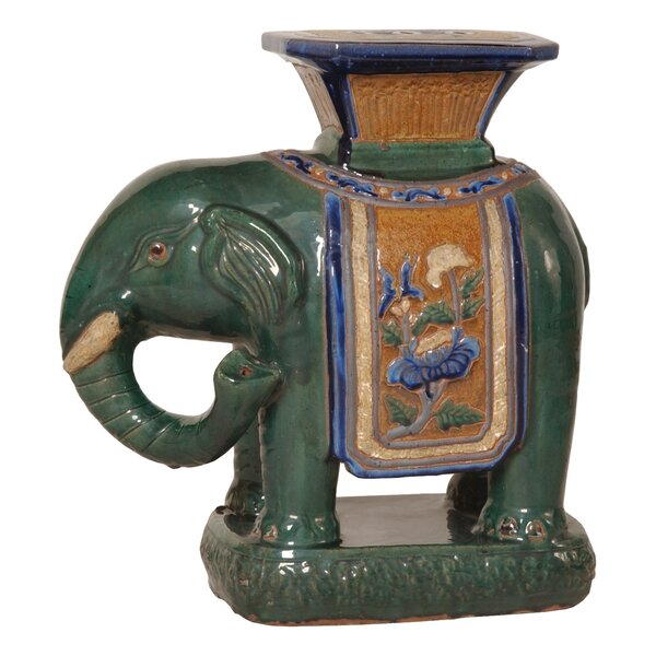 Westerham Elephant Plant/Telephone Table by World Menagerie