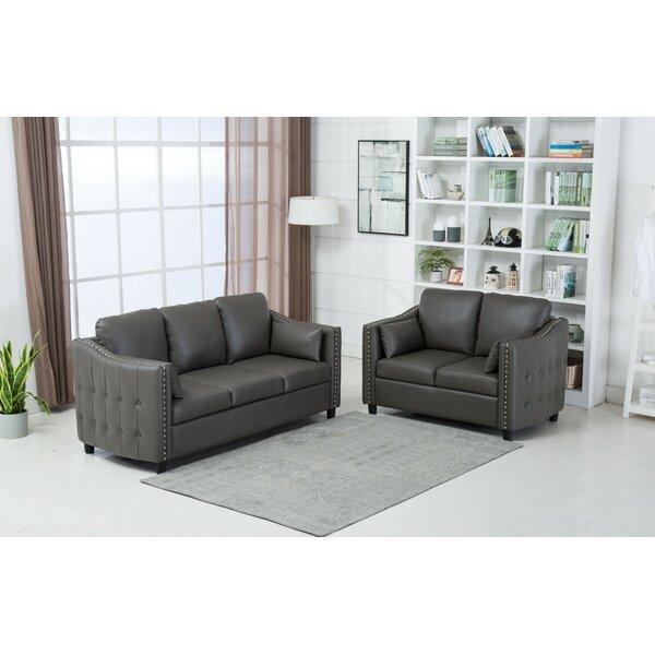 Palmea 2 Piece Living Room Set