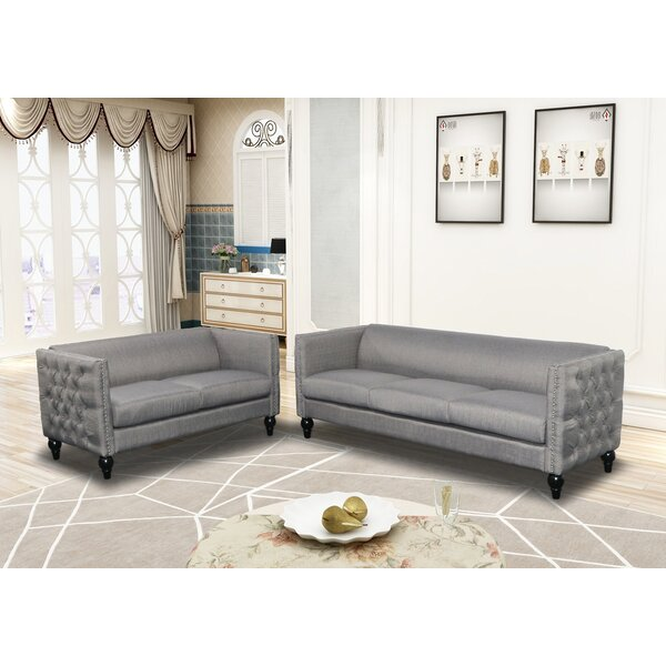 Looking for Annuziata 2 Piece Living Room Set By House Of Hampton Savings