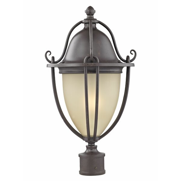 Greenhalge 1-Light 22.5 Post Light by Charlton Home