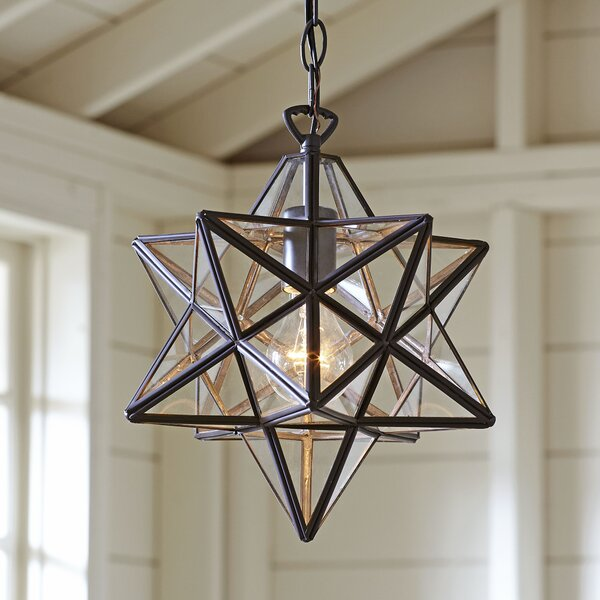 Charlton 1-Light Geometric Pendant by Birch Lane�