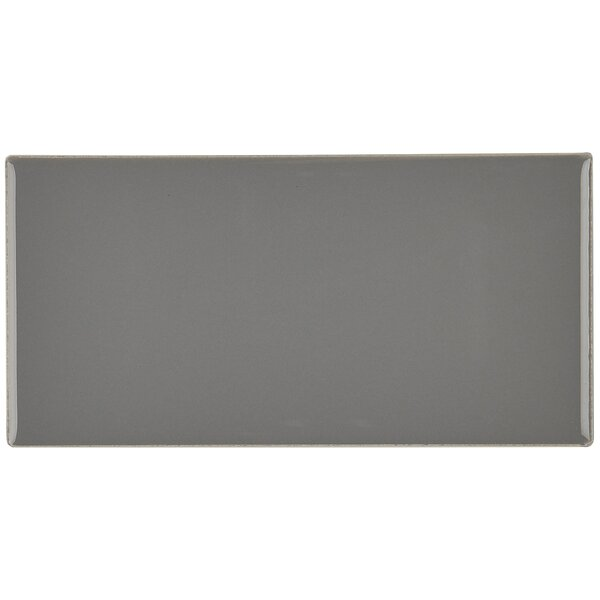 Guilford 3 x 6 Ceramic Subway Tile in Suede Gray by Itona Tile
