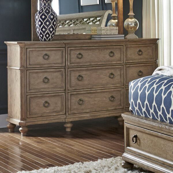 Silva 9 Drawer Dresser by One Allium Way