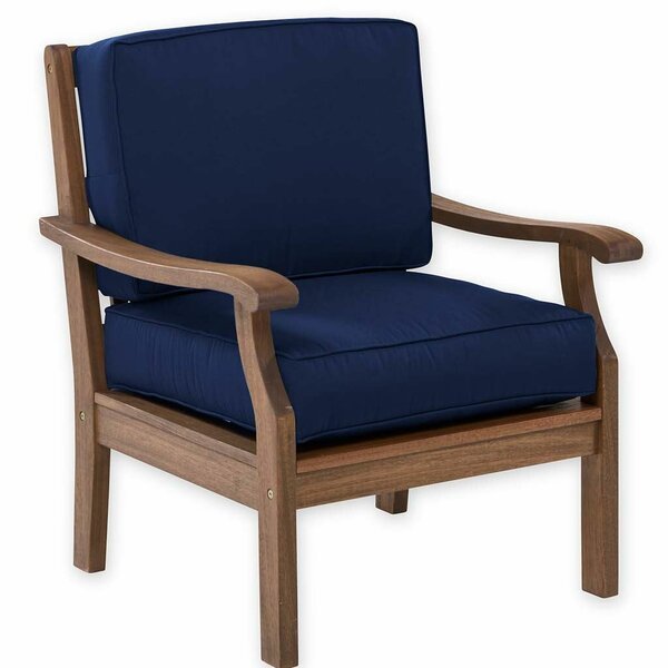 Claremont Patio Chair with Cushion by Plow & Hearth Plow & Hearth
