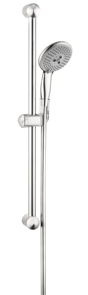 Unica E Wallbar Multi Function Slide Bar Shower Head by Hansgrohe