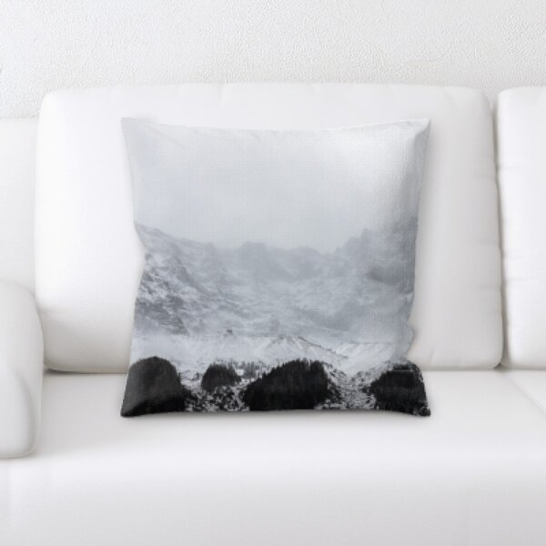Winter Feeling (72) Throw Pillow by Rug Tycoon