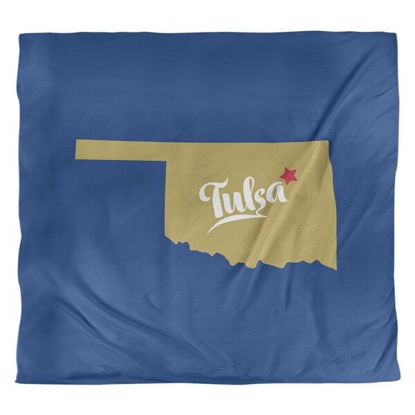 Tulsa Oklahoma Duvet Cover