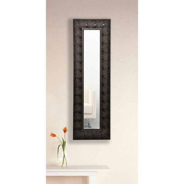 Derrill Feathered Accent Mirror Panel by Astoria Grand