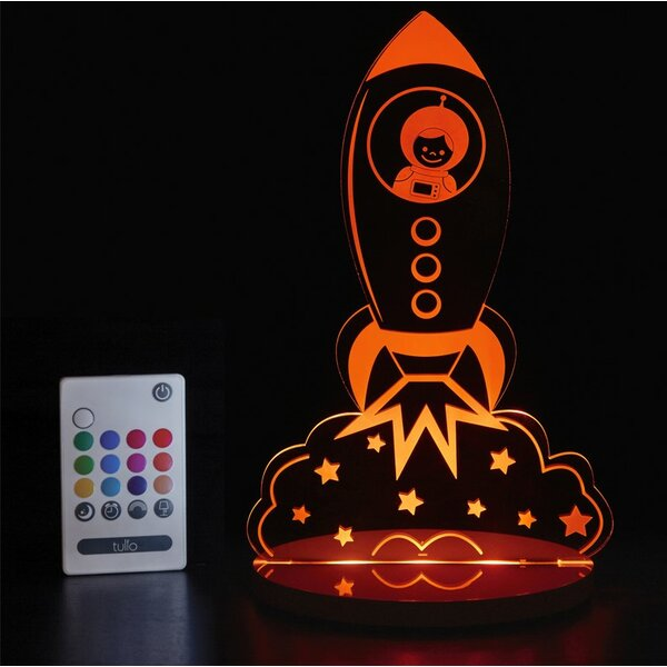 Rocket Ship Night Light by Tulio Dream Lights