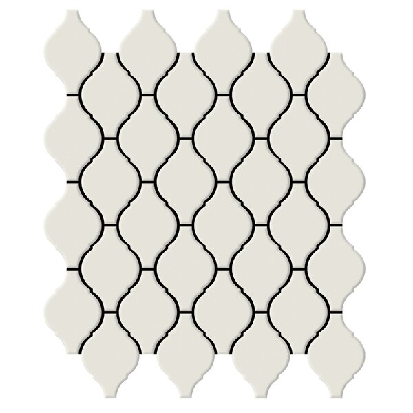 Shape 2 x 2 Porcelain Mosaic Tile in Bone by Emser Tile