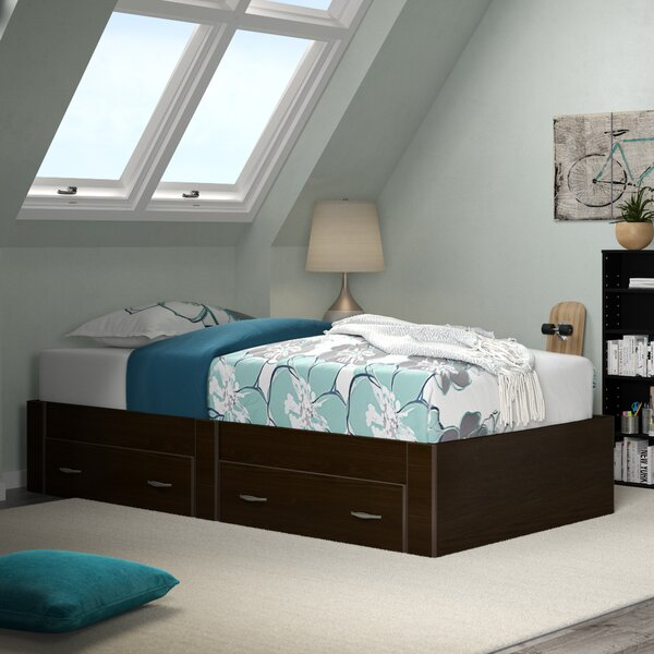 Sitton Twin Storage Platform Bed by Harriet Bee