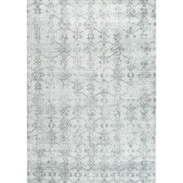 Allevard Silver/Gray Area Rug by Lark Manor