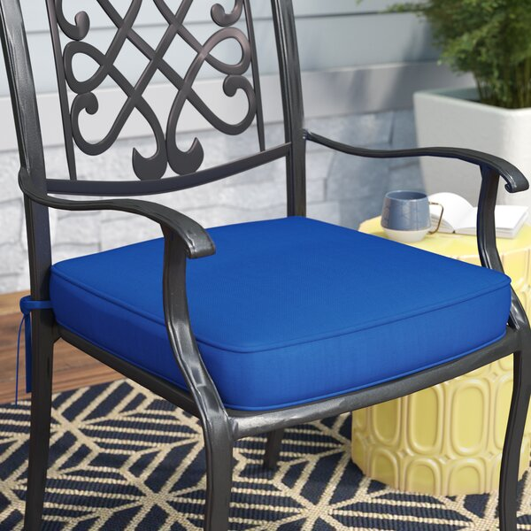 Indoor/Outdoor Sunbrella Dining Chair Seat Cushion by Mercury Row