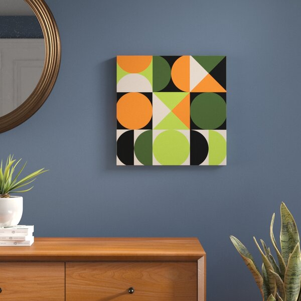 Tic-Toc I Graphic Art on Wrapped Canvas by Langley Street