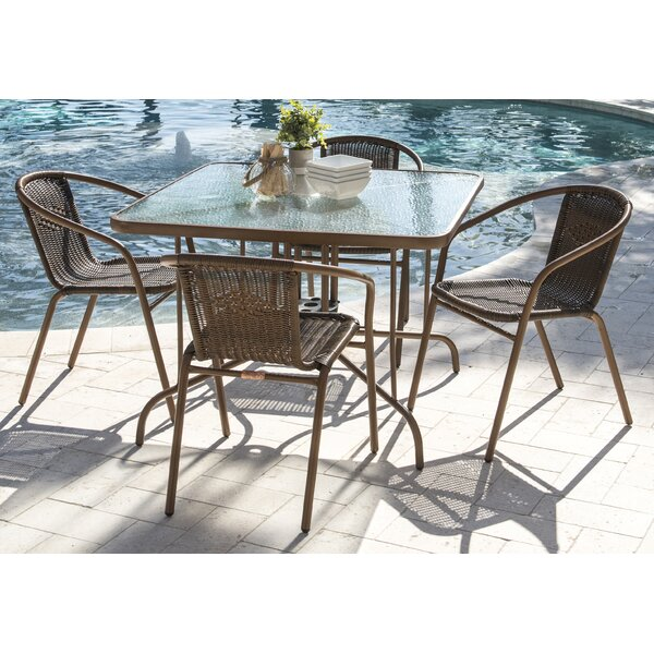 Café Dining Set by Panama Jack Outdoor