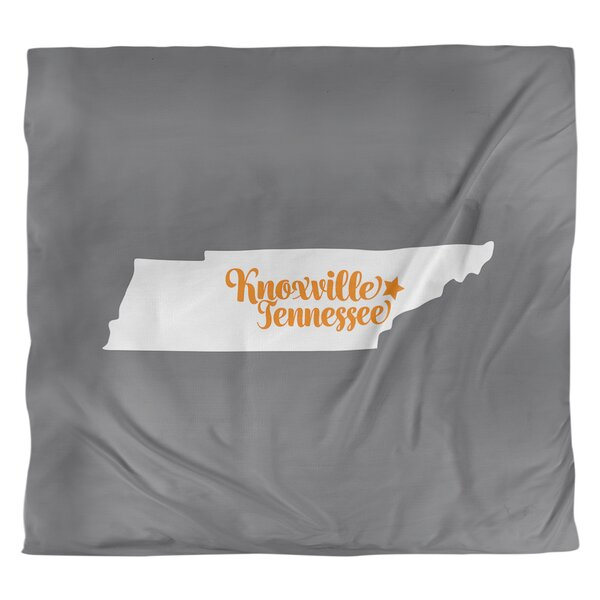 Knoxville Tennessee Single Reversible Duvet Cover