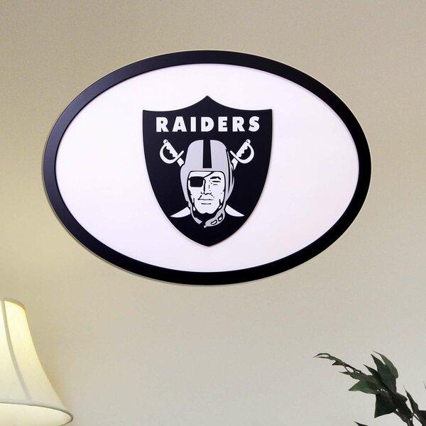 NFL Logo Textual Art Plaque by Fan Creations