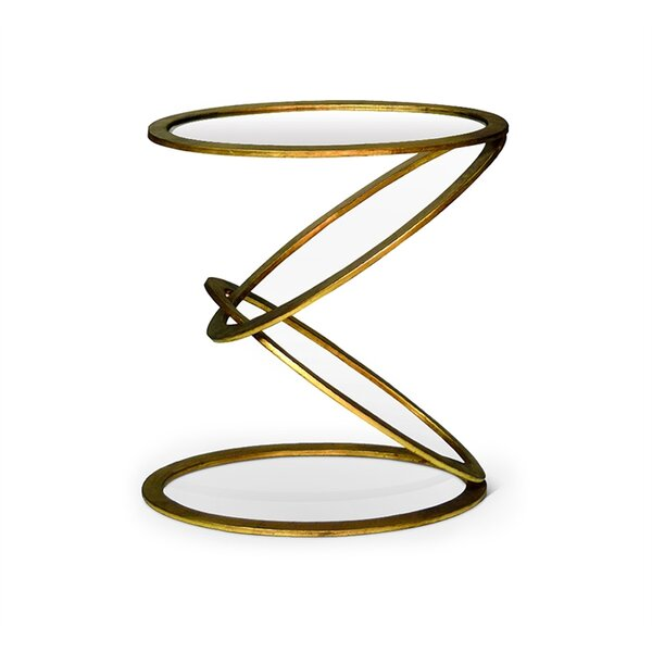Mobius End Table by Interlude
