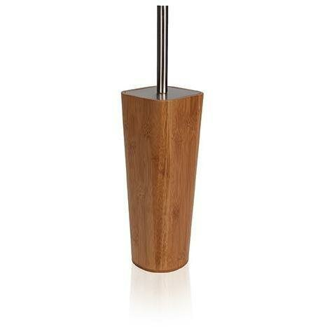 Bamboo Wood Free Standing Toilet Brush and Holder by AGM Home StoreBamboo Wood Free Standing Toilet Brush and Holder by AGM Home Store