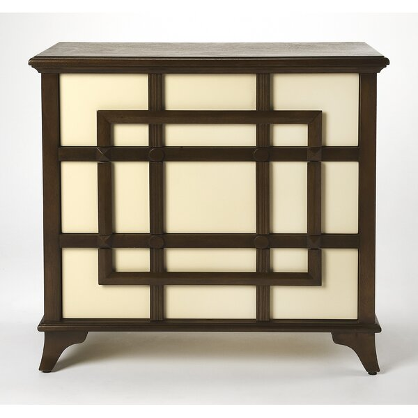 Clary 3 Drawer Accent Chest by World Menagerie World Menagerie