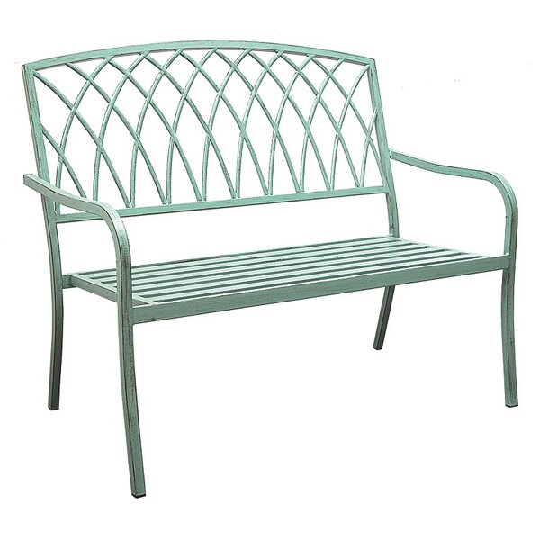 Alvis Aluminum Garden Bench by Ophelia & Co.Alvis Aluminum Garden Bench by Ophelia & Co.
