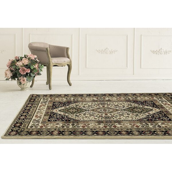 Gwinn Cream Indoor/Outdoor Area Rug by Astoria Grand