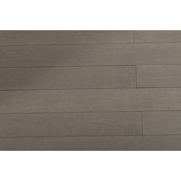 3-6/7 Solid Strandwoven Bamboo Flooring in Autumn Fog by ECOfusion Flooring