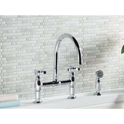Kohler Faucet Side Spray Polished Nickel Faucets