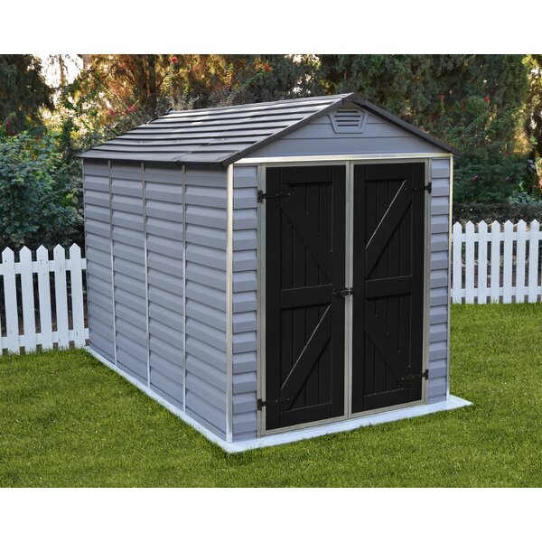 SkyLight™ 6 ft. 1 in. W x 10 ft. D Polycarbonate Storage Shed by Palram