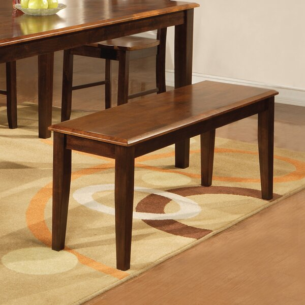 Nolan Wood Bench by Andover Mills