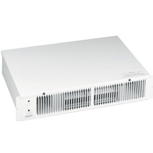 1500 Watt  Electric Fan Baseboard Heater By Broan NuTone