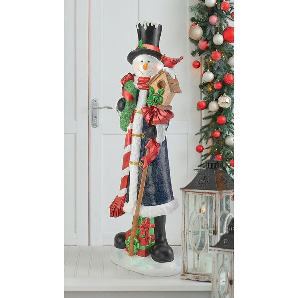 Sniffles the Snowman Statue by Design Toscano