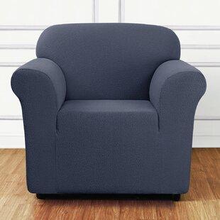 Side Box Cushion Armchair Slipcover