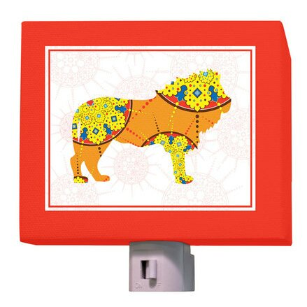 A to Z Animal Prints Lion Night Light by Oopsy Daisy