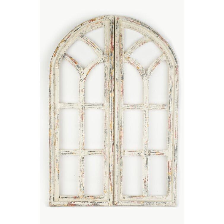 Architectural Window Wall Decor