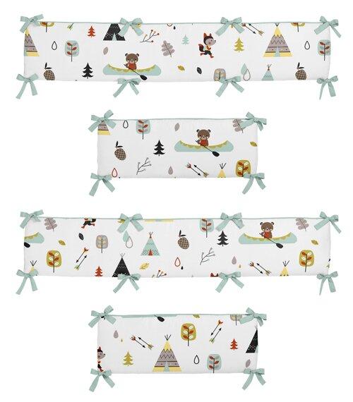 Outdoor Adventure Crib Bumper by Sweet Jojo Designs