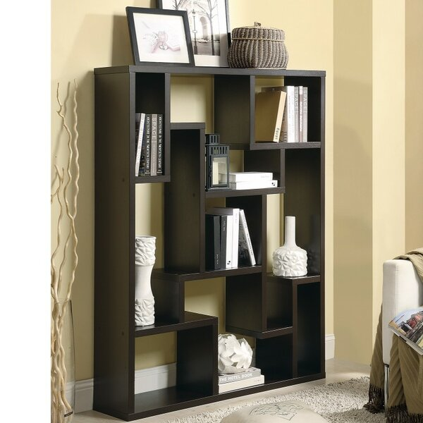 Mcatee Magnificently Asymmetrical Geometric Bookcase by Ivy Bronx