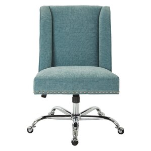 Kulshan Mid Back Desk ChairFabric Office Chairs You ll Love   Wayfair. Grey Fabric Office Chair. Home Design Ideas