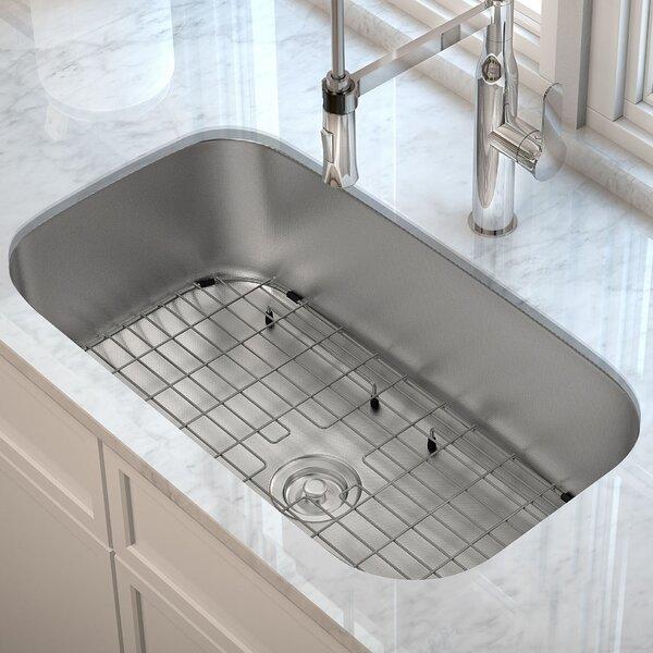 Outlast MicroShield™ 31 x 18 Undermount Kitchen Sink by Kraus